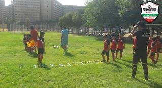 مدرسه فوتبال کودکان غرب تهران