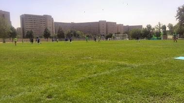 آموزش فوتبال از صفر تا صد در چمن مصنوعی و طبیعی