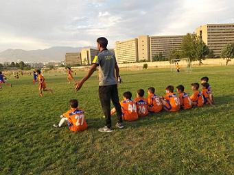 تست قبولی فوتبال کودکان و نونهالان و نوجوانان 98