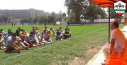تست فوتبال لیگ سه کشور تهران