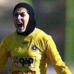 کلاس فوتسال بانوان در غرب تهران در مدرسه فوتبال دختران