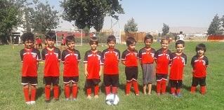 مدرسه فوتبال در شرق تهران