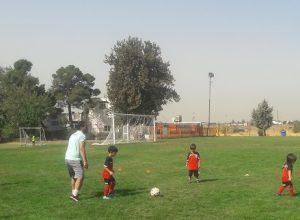 آموزش خصوصی فوتبال به کودکان