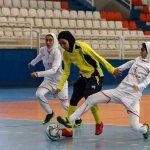 کلاس فوتبال دخترانه در غرب تهران و آموزش فوتسال بانوان