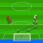 تمرینات فوتبال حرفه ای نوجوانان و نونهالان (ویژه گلزنی)