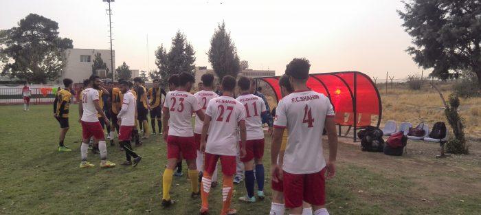 تست فوتبال بزرگسالان لیگ سه کشور