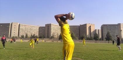 جذب بازیکن فوتبال بزرگسالان در تهران