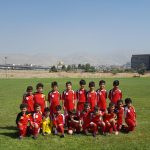 تست فوتبال رده سنی نونهالان تهران در ترم تابستان