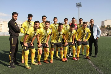 تست فوتبال بزرگسالان تهران 98-99