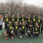 تست فوتبال جوانان تهران 98 - 99 در غرب و شرق