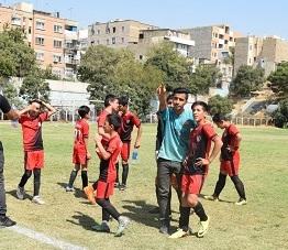 تست فوتبال نونهالان تهران
