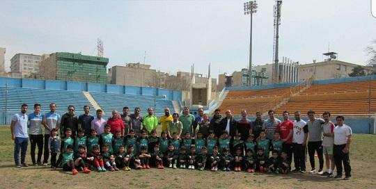 بهترین مدرسه فوتبال تهران