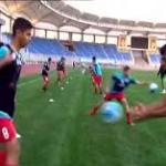 تست فوتبال نوجوانان ایران در غرب تهران