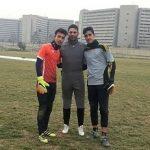 کلاس آموزش دروازه بانی فوتبال حرفه ای در تهران