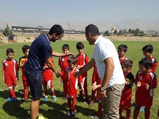 کلاس آموزش فوتبال کودکان و نوجوانان