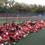 استعداد یابی فوتبال در تهران با روش اروپا
